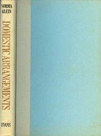 Domestic arrangements: A novel