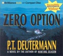 Zero Option (Audio CD) (Abridged)