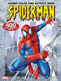 Spider-Man Jumbo Color & Activity Book