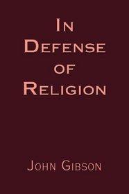 In Defense of Religion