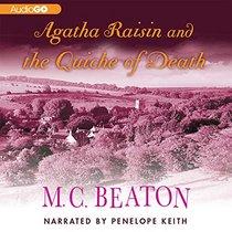Agatha Raisin and the Quiche of Death  (Agatha Raisin Mysteries, Book 1) (Agatha Raisin Mysteries (Audio))
