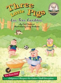 Three Little Pigs / Los Tres Cerditos / with CD (Another Sommer-Time Story Bilingual)