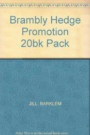 BRAMBLY HEDGE PROMOTION 20BK PACK