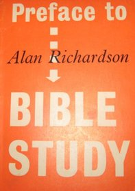 Preface to Bible Study