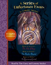 Lemony Snicket Gift Pack (Series of Unfortunate Events, Bks 7-9) (Audio Cassette) ( Unabridged)