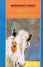 Misty De Chincoteague (Misty Of Chincoteague) (Turtleback School & Library Binding Edition) (Cuatro Vientos) (Spanish Edition)