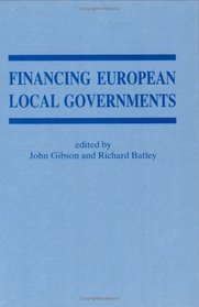 Financing European Local Governments (Special Issue of