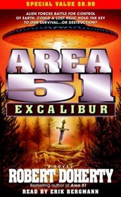 Area 51: Excalibur (Audio Cassette) (Abridged)