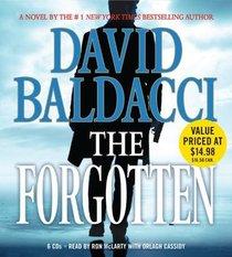 The Forgotten (John Puller, Bk 2) (Audio CD) (Abridged)