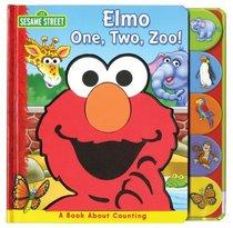 Sesame St Elmo 1 2 Zoo (Sesame Street Foam)