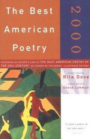 The Best American Poetry 2000 (Best American Poetry)