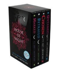 House of Night Boxed Set (books 1-4): Marked, Betrayed, Chosen, Untamed (House of Night Novels)