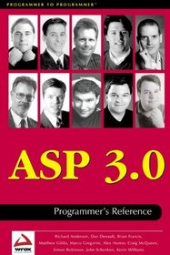 ASP 3.0 Programmer's Reference
