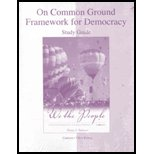On Common Ground - Study Guide Only