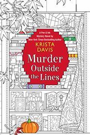 Murder Outside the Lines (Pen & Ink)
