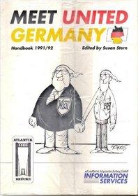 Meet United Germany, Handbook 1991/92/Perspectives