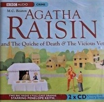 Agatha Raisin and the Quiche of Death / Agatha Raisin and the Vicious Vet (Agatha Raisin, Bks 1-2) (Audio CD)