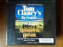 Mission of Honor (unabridged) (Op-Center, Bk 9) (Audio CD) (Unabridged)