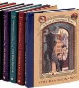 Series of Unfortunate Events Pack #1-#4(paperback)