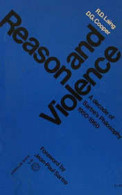 Reason and Violence: A Decade of Sartre's Philosophy, 1950-1960