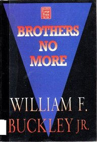 Brothers No More (Wheeler Large Print Book Series (Paper))