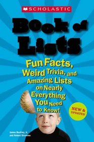 Scholastic Book Of Lists (Turtleback School & Library Binding Edition)