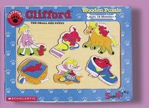 Clifford the Small Red Puppy Wooden Puzzle--Daily Activities
