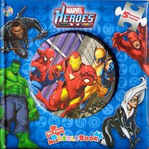 Marvel Heroes: My First Puzzle Book