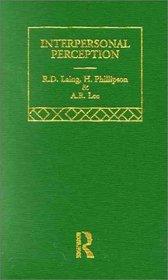 Sel Wks Rd Laing:Intpr Perc V6 (Selected Works of R.D. Laing, 6)
