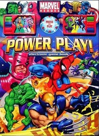 Marvel Heroes: Power Play! Electronic Game Book