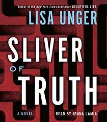 Sliver of Truth (Ridley Jones, Bk 2) (Audio CD) (Abridged)