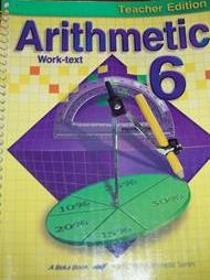 Arithmetic 6 Teacher Key