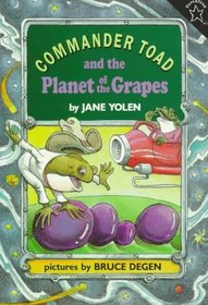 Commander Toad and the Planet of the Grapes (Commander Toad, Bk 2)
