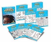 Mind Blasters Pocket Puzzles (Boxed Sets/Bindups)
