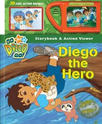 Nick Jr. Go, Diego, Go! Diego the Hero Storybook and Action Viewer