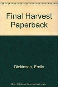 Final Harvest Paperback