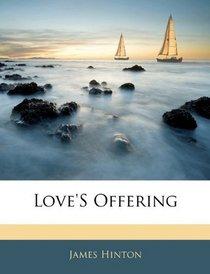 Love'S Offering
