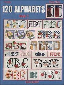 120 Alphabets Book 2 (Leisure Arts #2633)