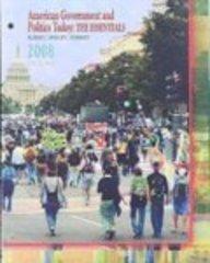 Cengage Advantage Books: American Government and Politics Today: The Essentials 2008 (Cengage Advantage Books)
