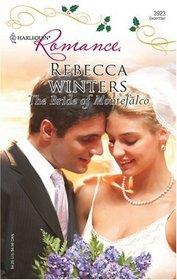 The Bride Of Montefalco (Harlequin Romance, No 3923)