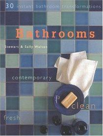 Bathrooms : 30 Instant Bathroom Transformations