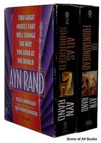 Ayn Rand 2-copy boxed set
