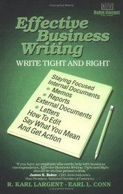 Effective Business Writing: Write Tight and Right