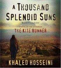 A Thousand Splendid Suns (Audio CD) (Abridged)