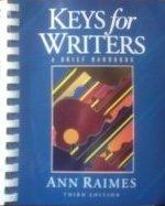 Keys for Writers: A Brief Handbook