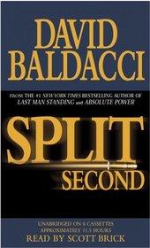 Split Second (Sean King & Michelle Maxwell, Bk 1) (Audio Cassette) (Unabridged)