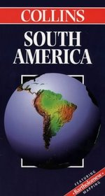 Collins South America (Collins World Travel Maps)