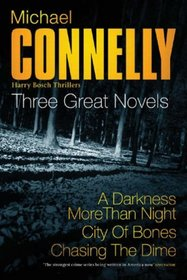 Three Great Novels 3 : A Darkness More Than Night', ' City of Bones', 'Lost Light