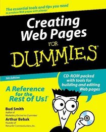 Creating Web Pages for Dummies, Fifth Edition