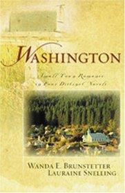 Washington: Small-Town Romance in Four Distinct Novels (4-in-1 Novellas)